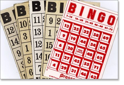 Bingo 75-Ball Ticket