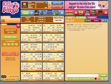 Real Money 90-Ball Bingo Online