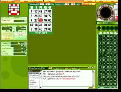 Bingo Australia - Online Housie for AUD