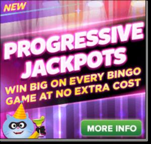Online Bingo Progressive Jackpots