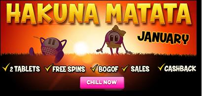 Lucky Pants Bingo - Hakuna Matata-promo