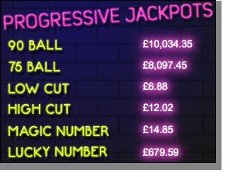 Lucky Pants Bingo Jackpots