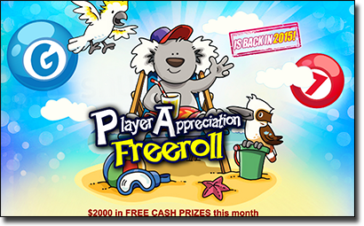 Aussie Dollar Bingo - February promotions for AUD players