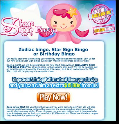 Bingo Australia - AUD Bonuses