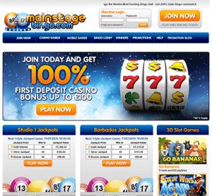 Mainstage online bingo for Kiwis